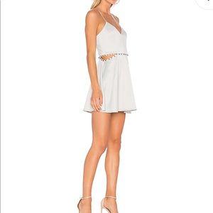 Nbd vestidos vestido Brandi en pizarra 74wfq